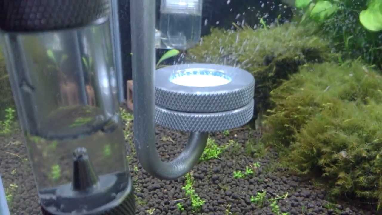 Aquarium fish tank co2 atomizer system - Aquarium Aluminum Co2 Diffuser