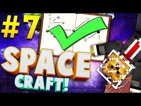 Minecraft SPACE CRAFT - MOON LANDING - Modded Survival #7