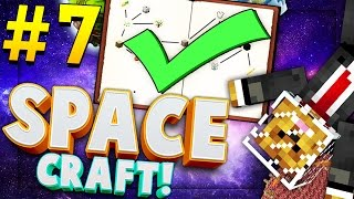 Minecraft SPACE CRAFT - MOON LANDING - Modded Survival #7