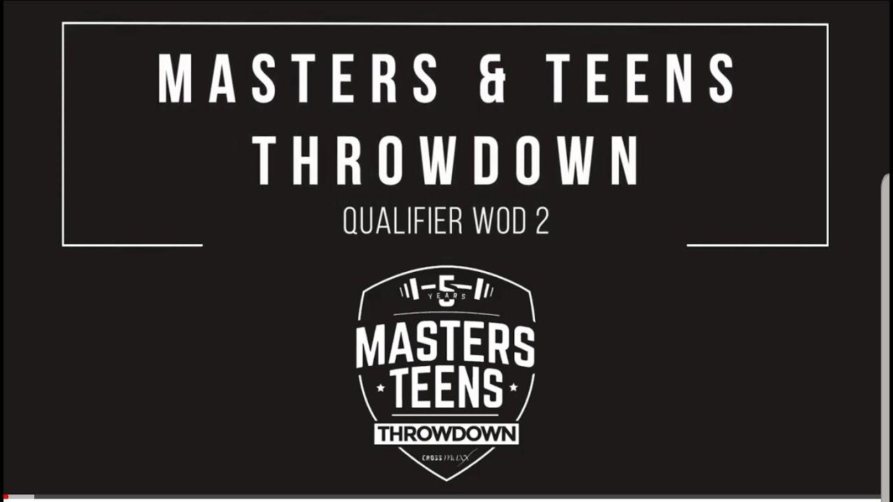 "Masters & Teens Throwdown 2019 - 2020 Qualifier WOD 2 ""Mega Cindy"""
