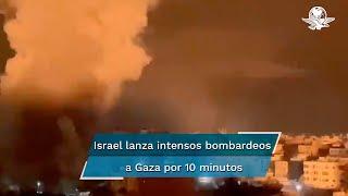 Los ataques fueron más intensos, en un área más extensa y duraron más que los bombardeos llevados a cabo 24 horas antes