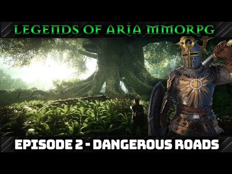 Legends Of Aria MMORPG - Episode 2: Dangerous Roads ⚒Medieval Blacksmith (1080p)