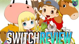 Story of Seasons: Friends of Mineral Town Switch Review (Video Game Video Review)