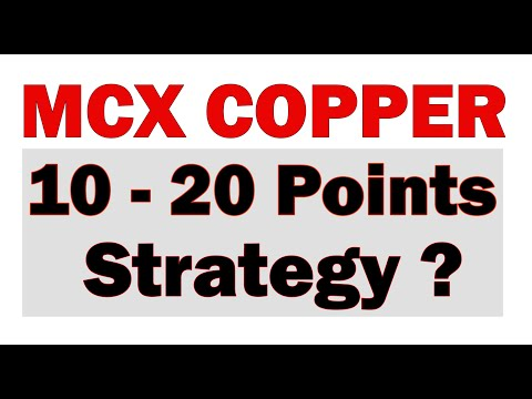 Copper Positional Strategy Trading (in Hindi) - Sharmastocks com