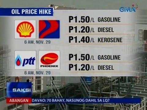Bigtime oil price hike, simula na mamayang madaling araw