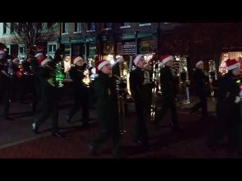 Adairsville High School Tiger Marching Band Adairsville Christmas Parade