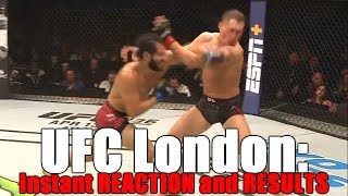 ufc-london-reaction-and-results