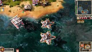 Command & Conquer Red Alert 3 Uprising Skirmish vs brutal AI #4
