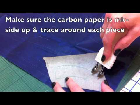 Using Clover Double Tracing Wheel For Burdastyle Patterns Youtube