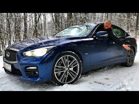 Конкурент Mercedes-AMG C 43 и BMW 340i? INFINITI Q50S 400+ сил - тест-обзор боком с батей : )