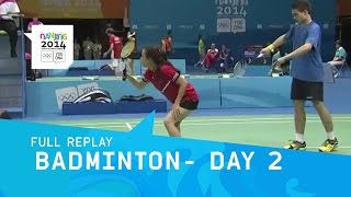 Badminton - Mixed Doubles Group Stage Day 2 | Full Replay | Nanjing 2014 Youth Olympic Games