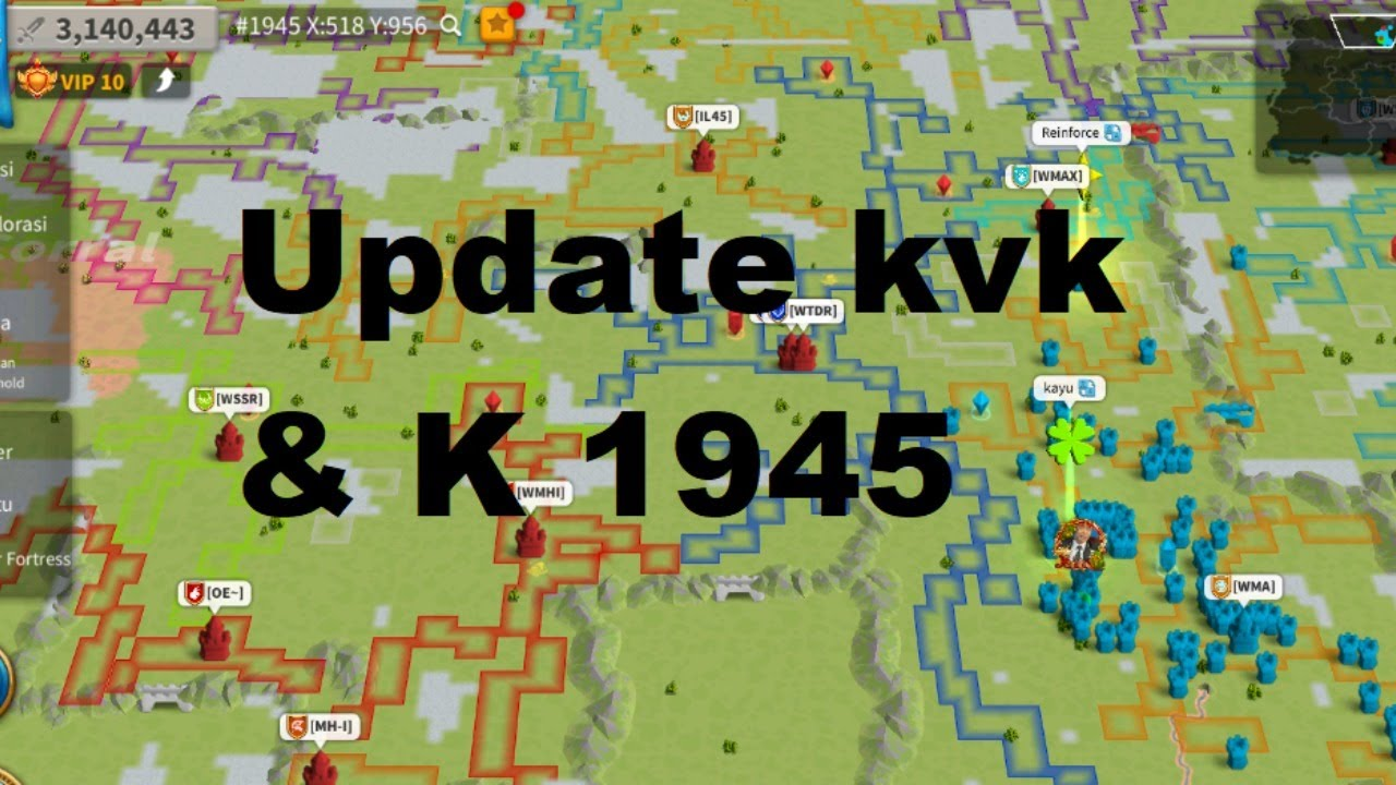 Live ! Update KVK and KD 1945