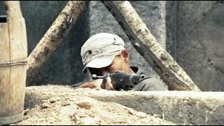 Chinese soldiers use trap to kill 400 Japanese soldiers