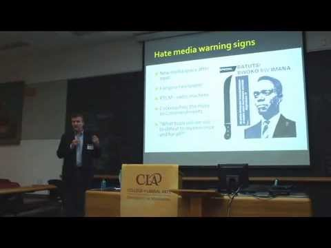 "Allan Thompson - ""Genocide and the Media: Rwanda's Genocide Video"""