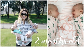 Two Month Update Twin Babies: June + Violet | Kendra Atkins