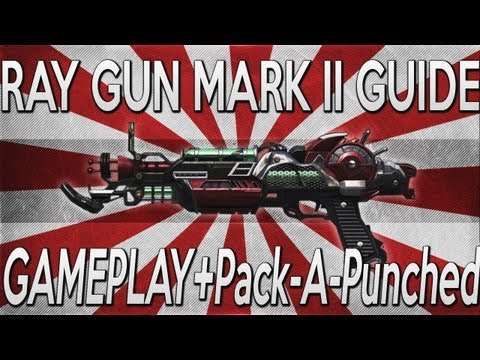 """Ray Gun Mark 2"" Guide: *NEW* EARLY OFFICIAL GAMEPLAY + PACK A PUNCHED (Black Ops 2 Zombies)"