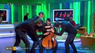 Prague Cello Qaurtet: Monti´s Csardas (4 violoncellist to 1 cello)