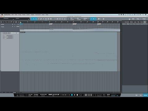 How To Import A Tempo Map Into PreSonus Studio One