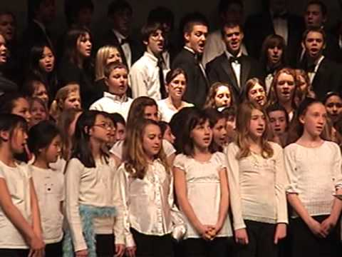 God Is Watching Us - 5th grade chorus - Sai