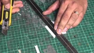 BUA - Cutting foamḃoard cleanly