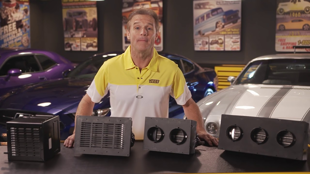 Jegs Universal Hot Rod Automotive Heaters With Kenny