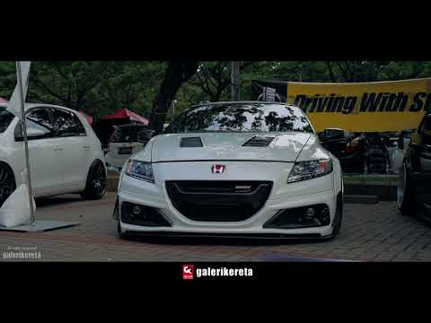 SUPER Lowered CRZ Widebody Modified at IAM2017 Indonesia AutoModified Jakarta