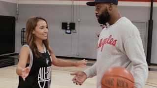 Britt Johnson Goes 1-on-1 with NBA Legend Baron Davis | Fumble Exclusive