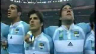Argentina anthem(world cup rugby 2007)