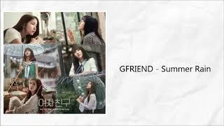 Video GFRIEND - Summer Rain{Easy Lyrics} download MP3, 3GP, MP4, WEBM, AVI, FLV Juli 2018