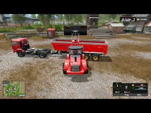 Farming Simulator 17 - Working Compost, and feeding the Sheep, Pigs and Cows pt 1