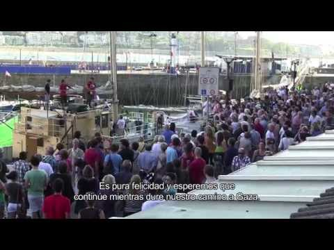 Estelle mission. From port-to-port to Gaza (2012)