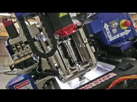 Automated Aircraft Drilling & Fastener Insertion with FANUC 31i-A5 CNC - Courtesy of Electroimpact
