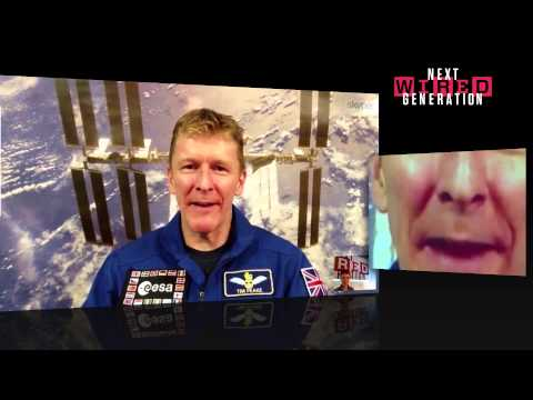 Astronauts Tim Peake and Helen Sharman | WIRED 2014 Next Generation | WIRED