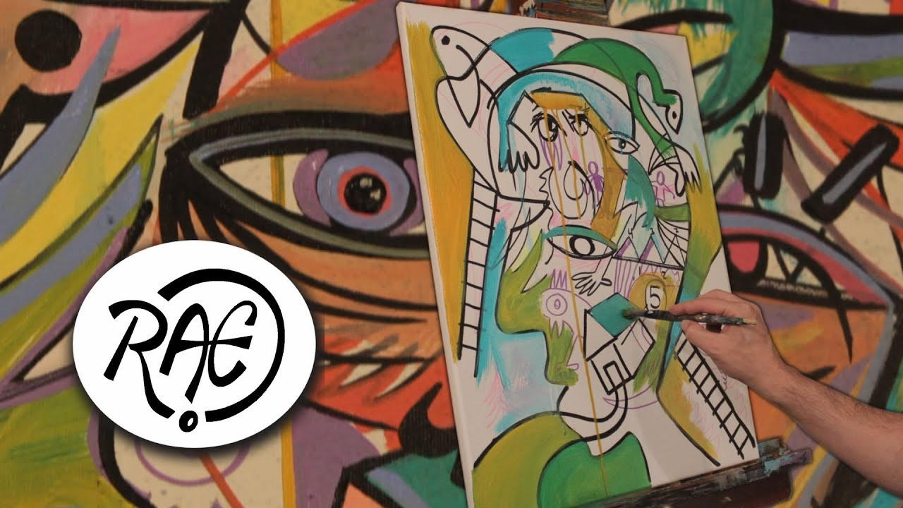Crazy Painting Crazy Psychedelic Trippy Art Painting By Raeart Streetart Graffiti