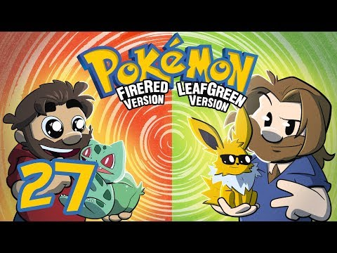 Pokemon Fire Red and Leaf Green | Let's Play Ep. 27 | Super Beard Bros.