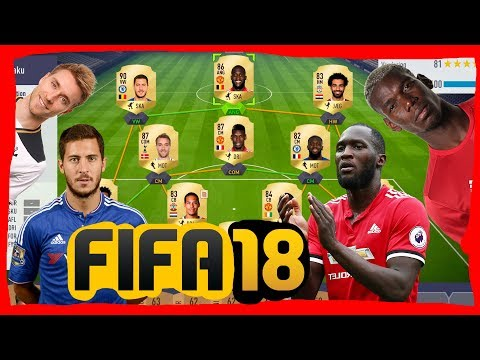 BEDSTE HOLD I PREMIER LEAGUE ? FIFA 18 - DANSK - ROMELU LUKAKU ADVENTURE Ep.8