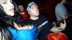 The Governor and Amy Anderssen at the first Wacken Metal Battle Canada