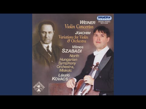 Variations for Violin with Orchestral Accompaniment (E minor)