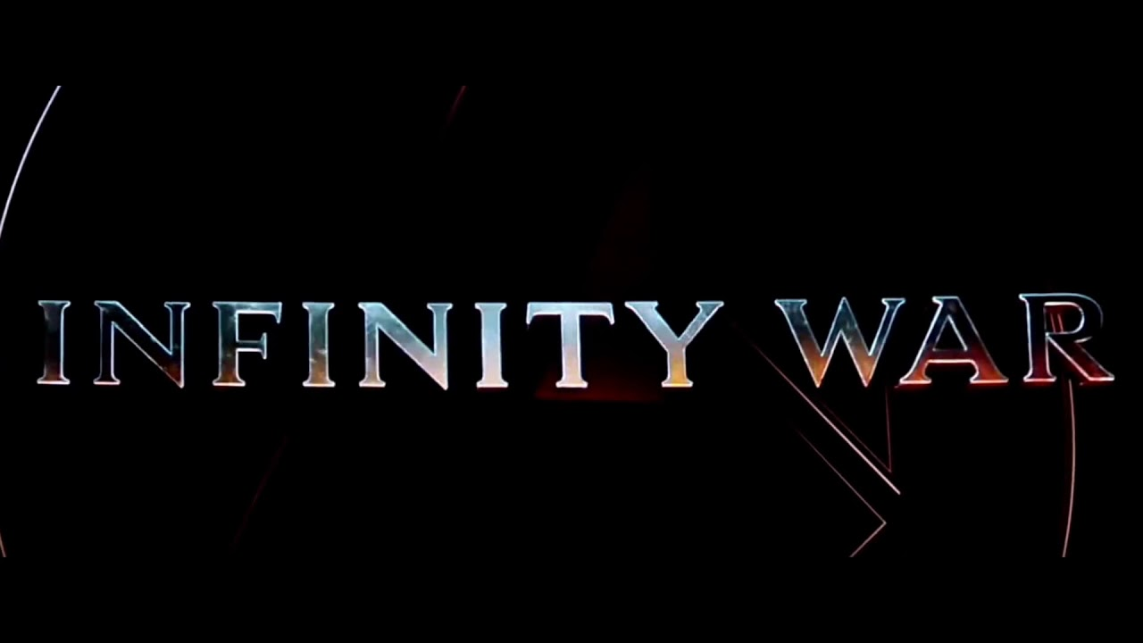 Avengers Infinity War Title scene - YouTube