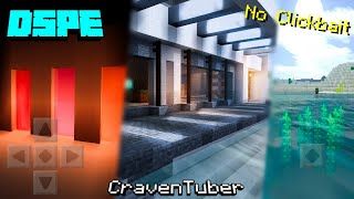 MCPE 1.16+ DSPE Ultra Shader Pack | Best Ultra Realistic Shader Pack For MCPE | UHD Textures