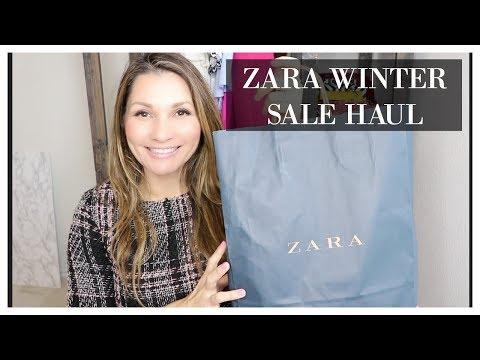 ZARA WINTER SALE HAUL 2018