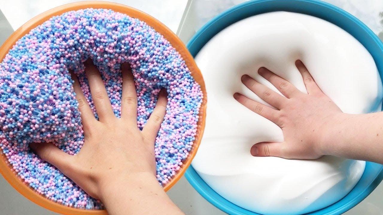 Most Satisfying Slime ASMR Videos   Oddly Satisfying ...