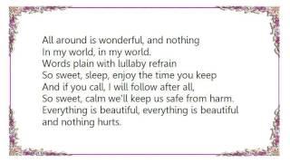 Catatonia - Nothing Hurts Lyrics