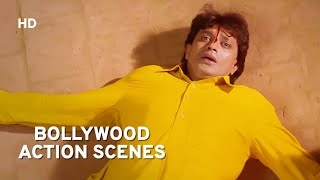 Bollywood Action Scenes | Mithun Chakraborty | Himmatwala [1998] | Ayesha Jhulka | Action Movie