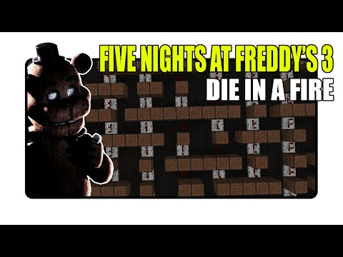 Five Nights at Freddy's 3 Song - Die In A Fire - Minecraft Xbox  NoteBlock Song 
