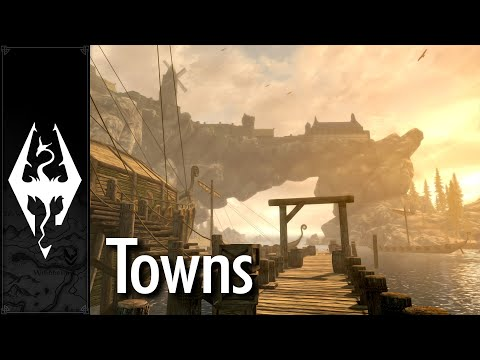 Skyrim - Music & Ambience - Towns