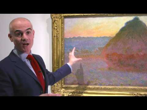 Claude Monet's Grainstack Paintings