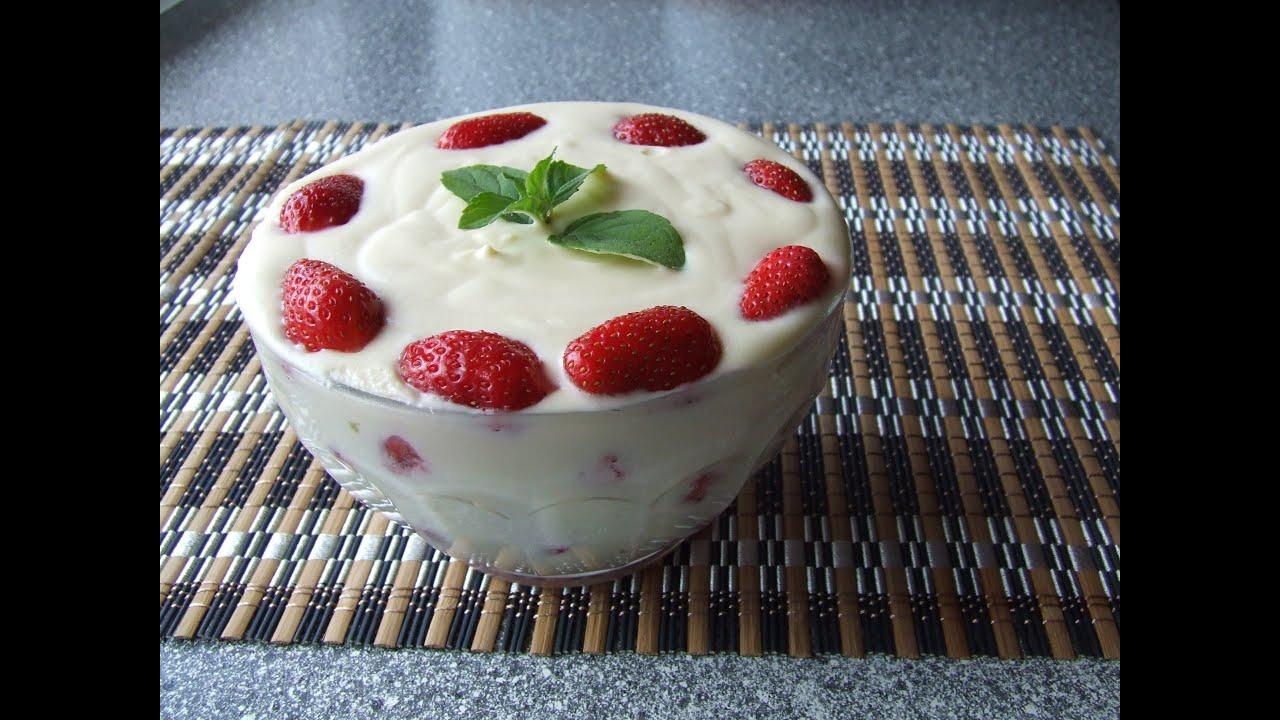 как приготовить десерт молочносливочное желе
