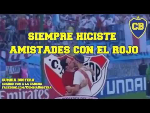 CUMBIA BOSTERA - CANCIONES DE BOCA JUNIORS CON LETRA Y VIDEO / 2017 - 2018
