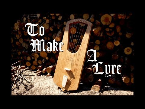 TO MAKE A LYRE | Homemade Musical Instrument